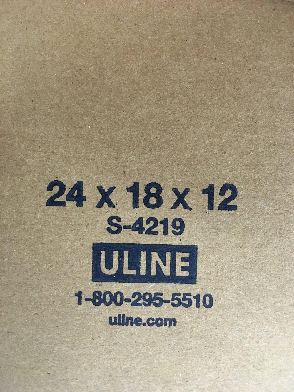 boxes, 24x18x12, 40 total