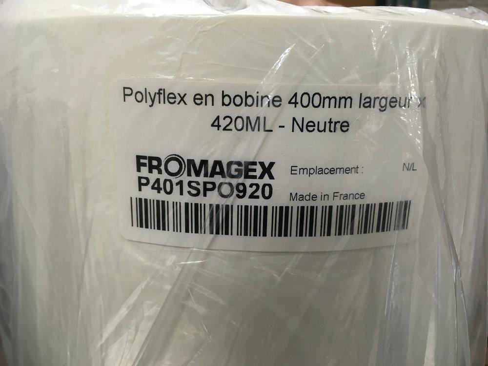 """Polyflex roll, 18"""""""