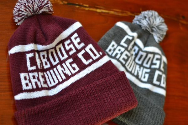 Maroon and Grey Beanies $20