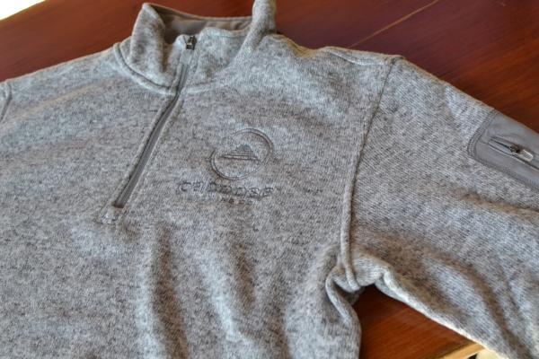 Quarter-zip Fleece $80