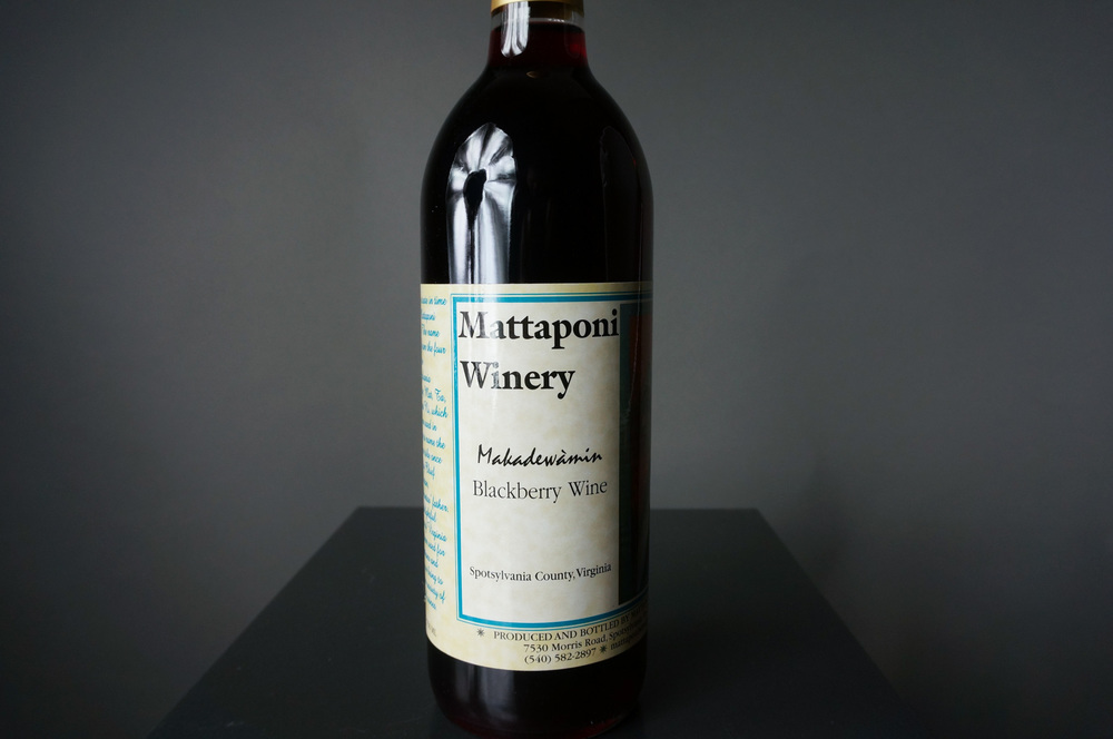 Makadewàmin Blackberry Wine