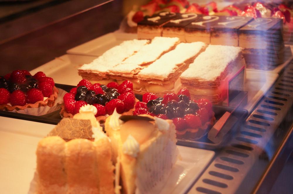 Charlotte, Berry Tartlets, Napoleons, Opera Cakes