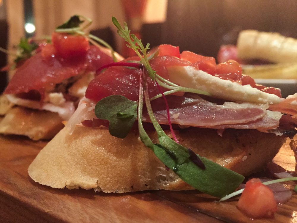Country Ham Bruschetta