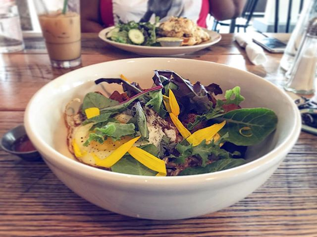 #Brunch at @commune_va in #Norfolk. This #southern rice bowl was fantastic! • • #eatlocal #supportlocal #supportsmallbusiness #local