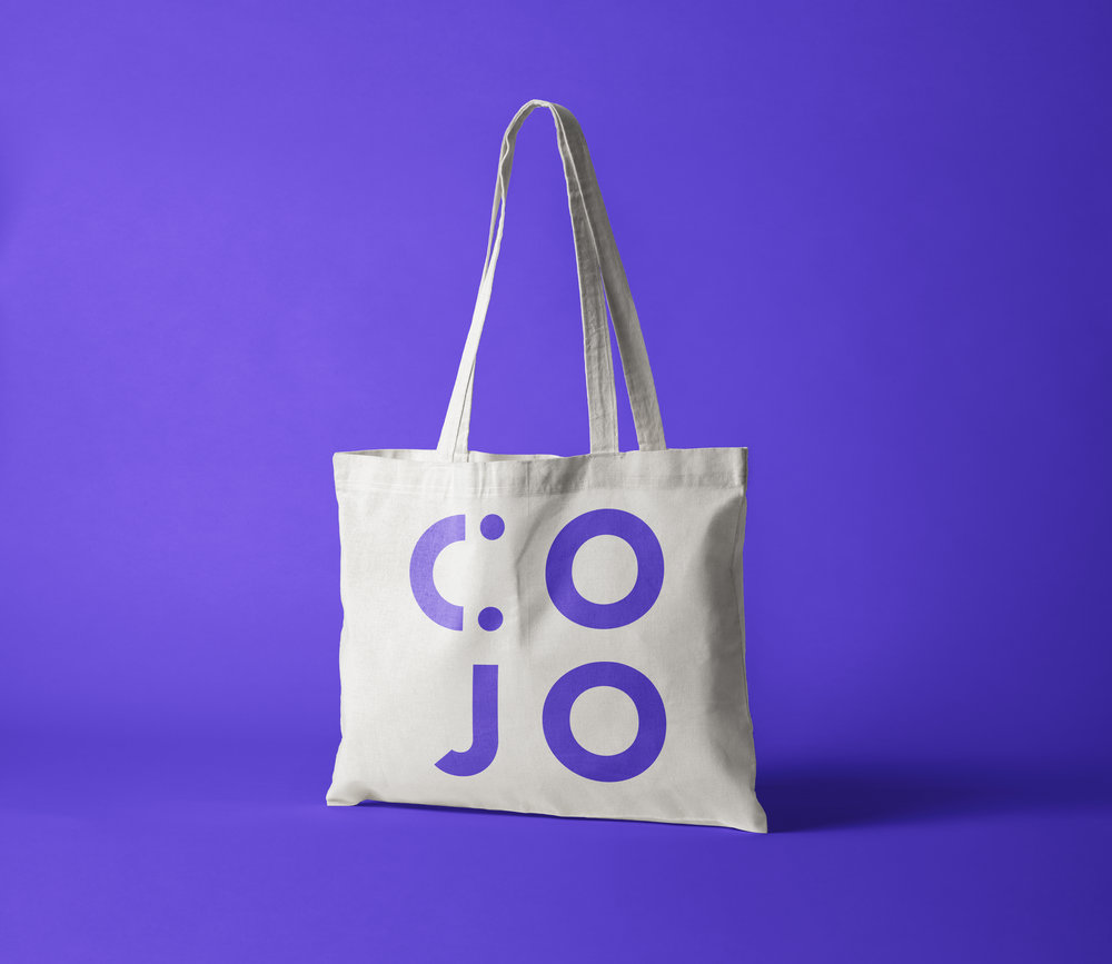 08 —10 — 2018   Identity in the making for Cojo, - a co-working agency that allows you to work together anywhere, everywhere at anytime