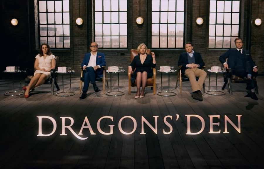 BBC2 - Dragons Den Ident