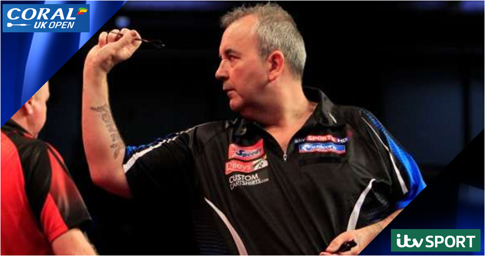 ITV4 - Live: Masters Darts