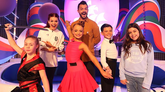 CBBC - Blue Peter: Purple Badge Takeover