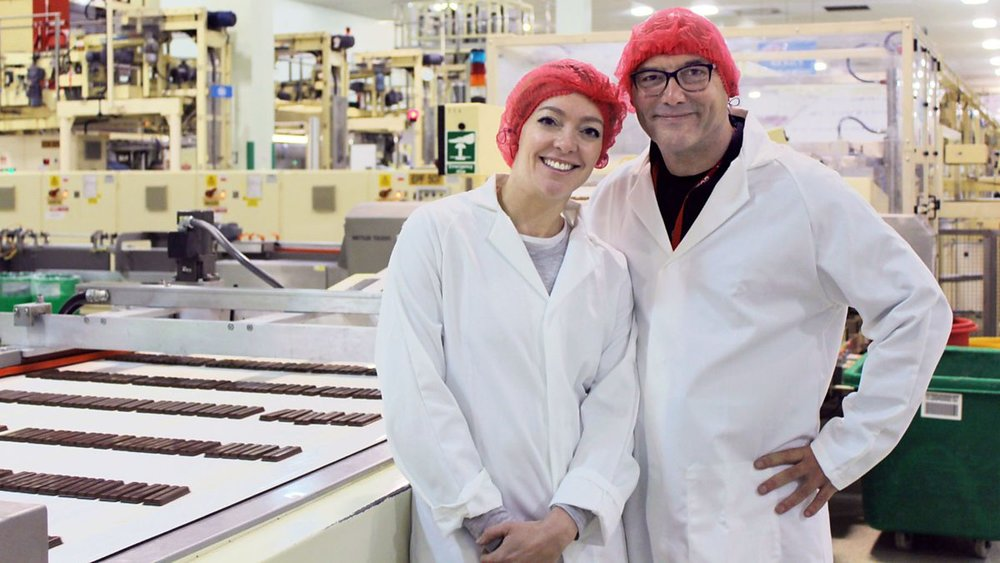 BBC2 - Inside the Factory: How our Favourite Foods are Made	Chocolate
