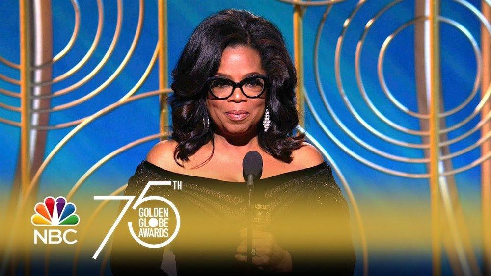 Oprah Winfrey - Golden Globes 2018