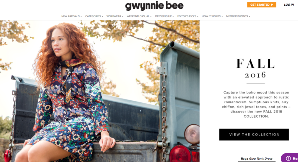 Gwynnie Bee Fall 2016 Lookbook