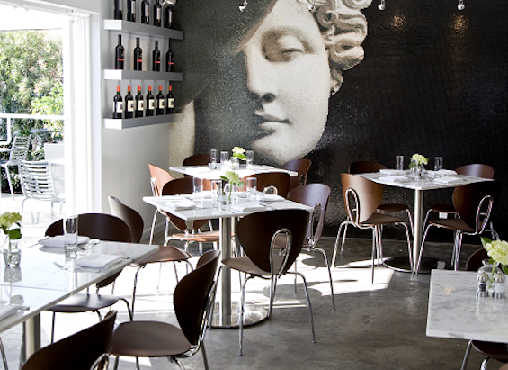 Above: Joey's Italian cafe in Miami, Florida makes the cut for local dining.