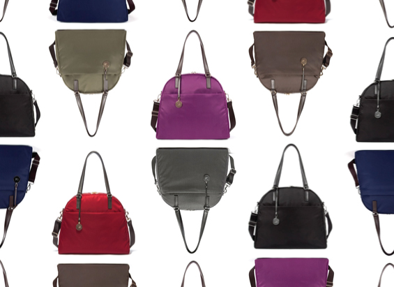 Pictured: The O.G. bag in seven colors.