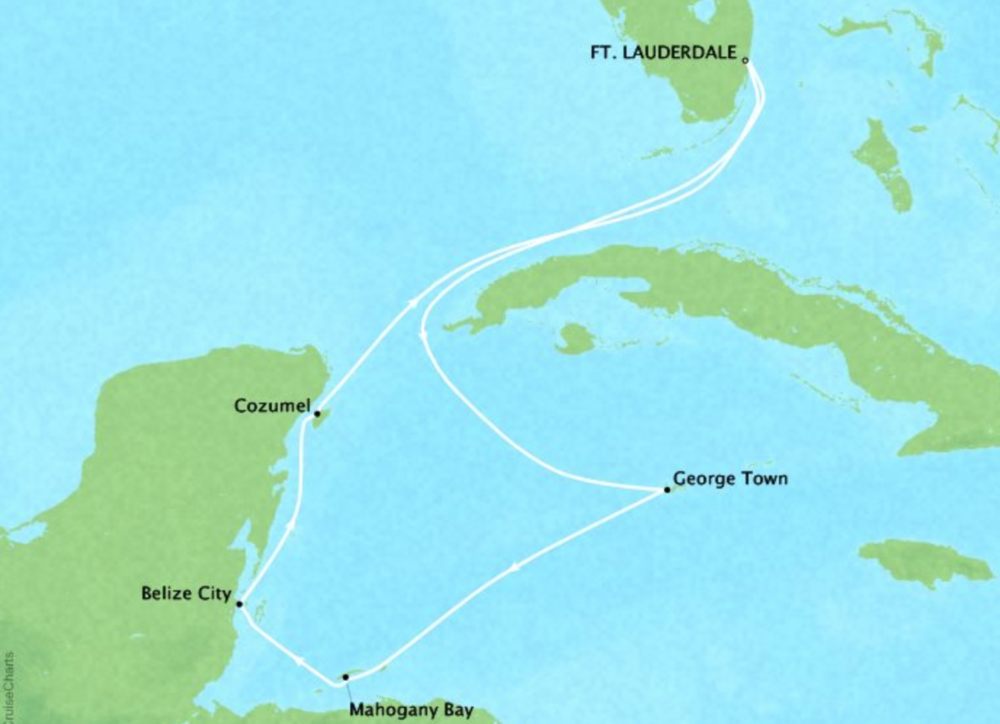 7 day Western CaribbeanCaribbean Princess®Roundtrip Ft. Lauderdale - Itineraries available between May 2019 - April 2020