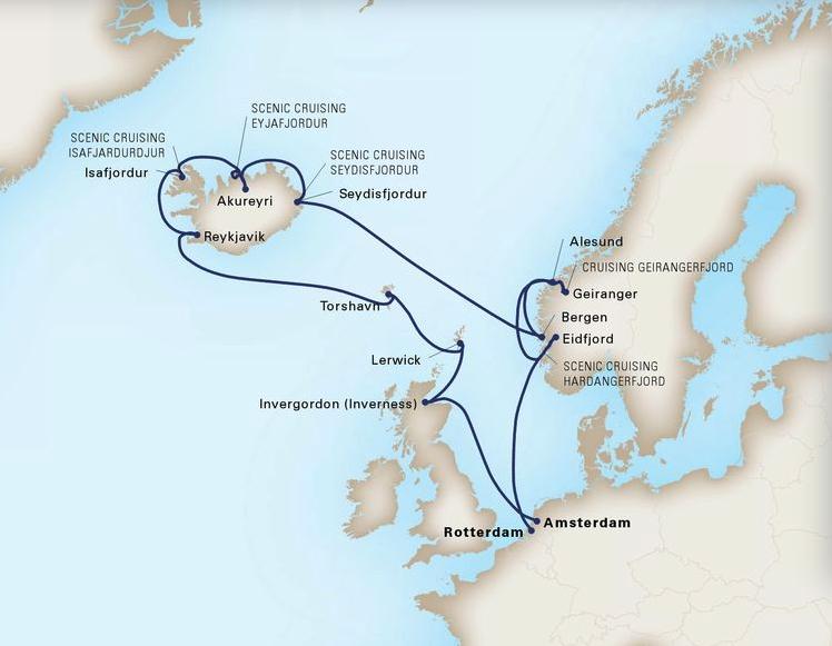 16 Day Northern IslesRotterdam®Rotterdam to AmsterdamJune 15, 2019 -
