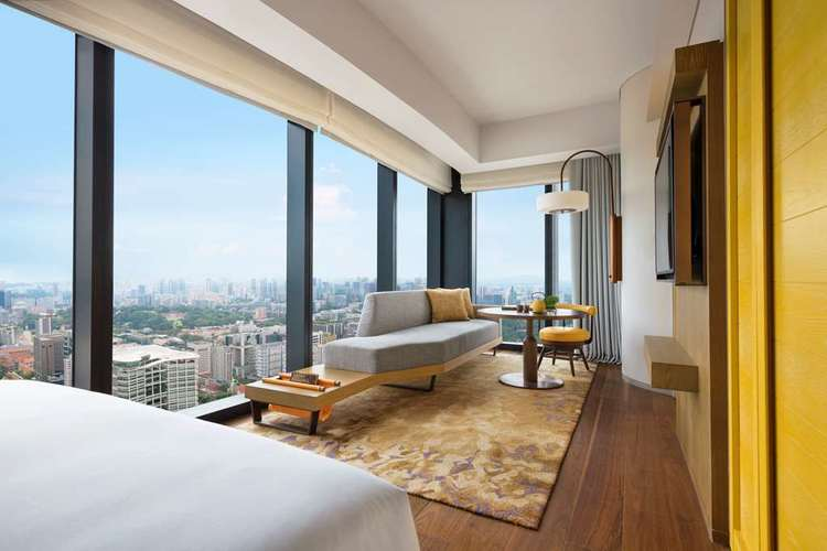 Andaz Singapore - Surrounded by the historic Kampong Glam and Little India districts, the iconic Marina Bay area and the Bras Basah Bugis arts hub, Andaz Singapore aims to be an extension of its surrounding neighbourhoods, celebrating local people, culture and community traditions. By infusing the hotel's environs into its guest experience, we want guests to arrive as visitors but depart feeling like locals.Promotion: 4th night free