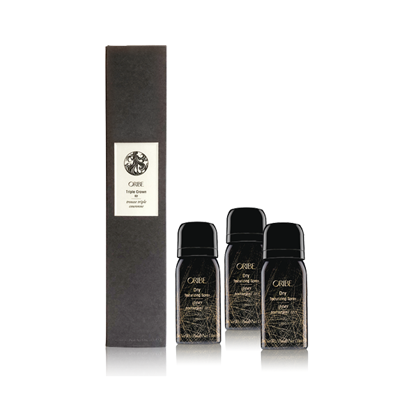 420 Points: Oribe Triple Crown Kit: 3 Mini Dry Texturizing Sprays