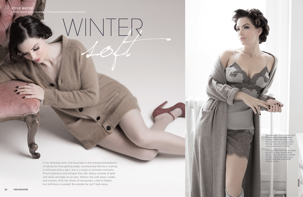 YAM Magazine  Winter Soft