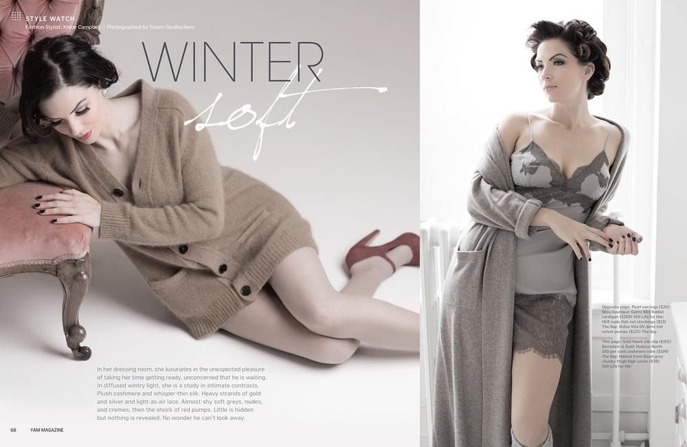 YAM, Winter Soft  (credits)