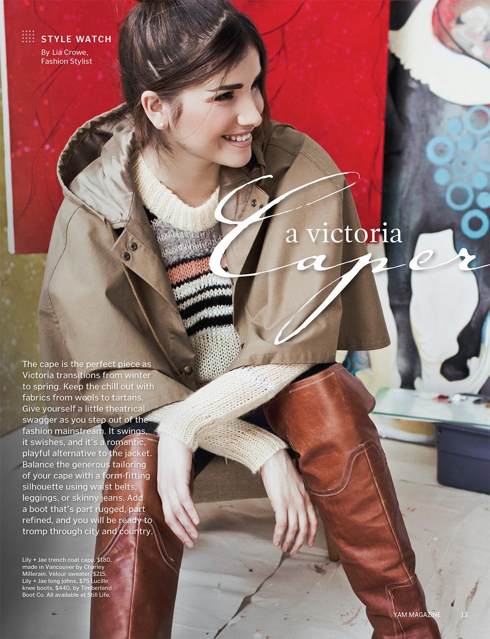 YAM Magazine  Caper