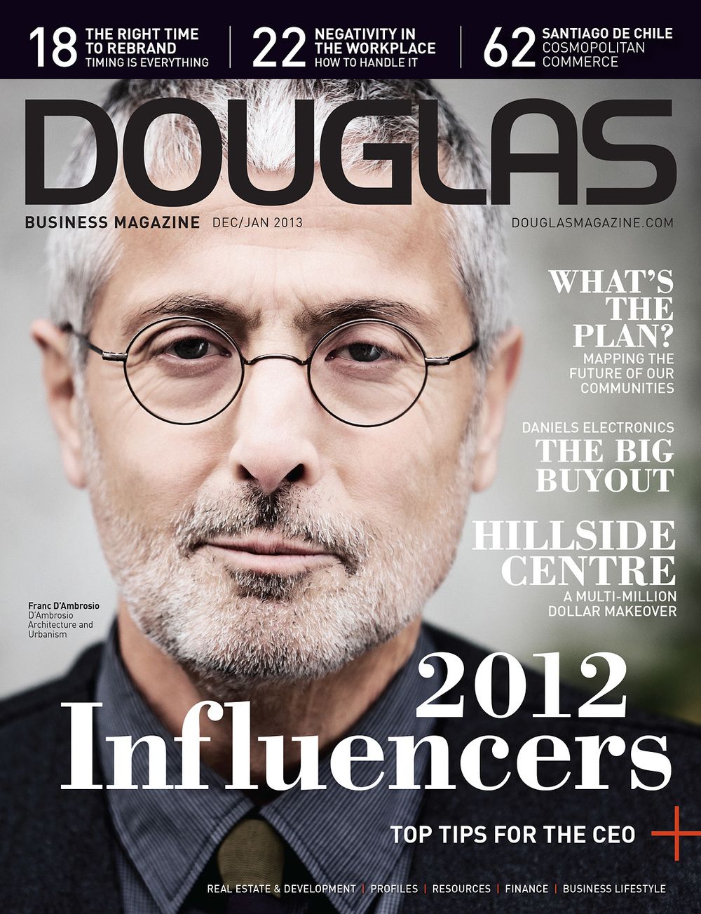 Franc D'Ambrosio for Douglas Magazine
