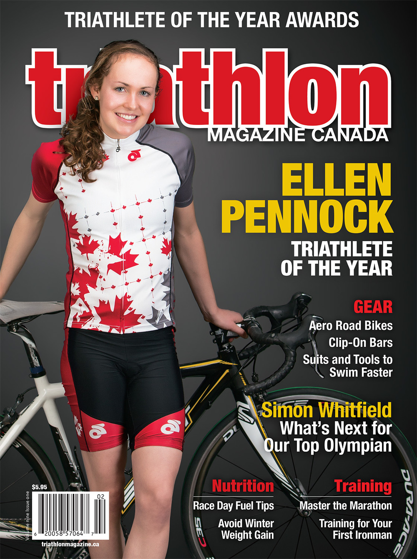Ellen Pennock Triathlon Magazine Canada