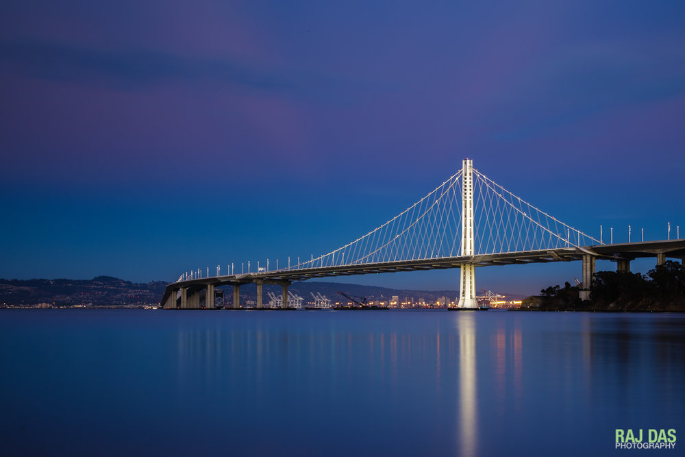 Eastern span of Bay Bridge, San Francisco