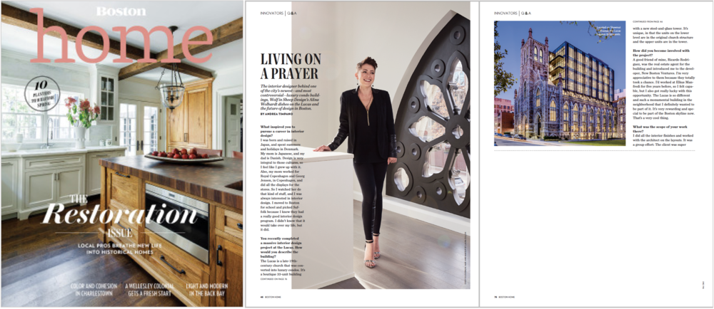 Boston Magazine Home - Spring 2018