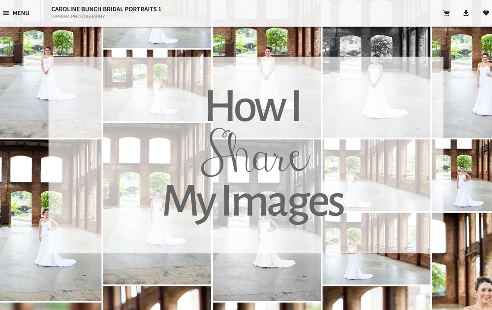 How I Share My Images