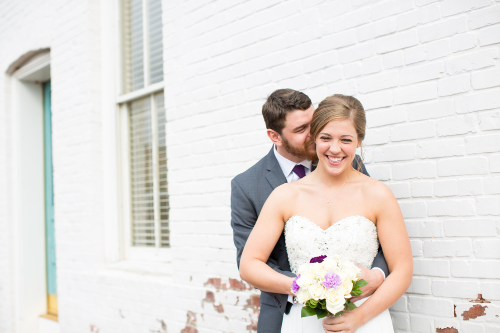 Bride and Groom Portrait_NC Wedding Photographer