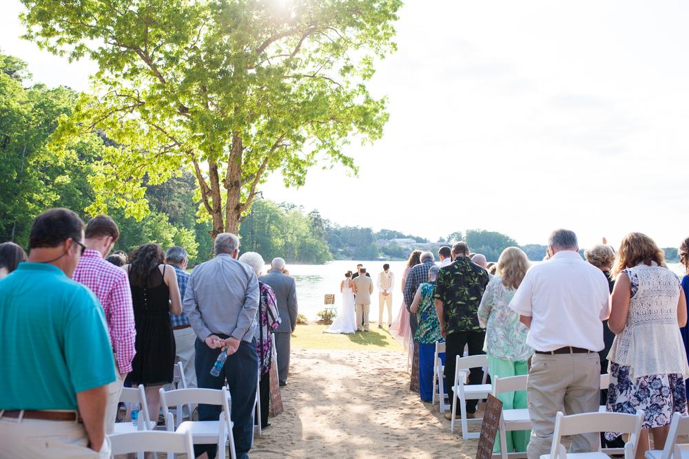 Hidden Cove at Lake Keowee Wedding