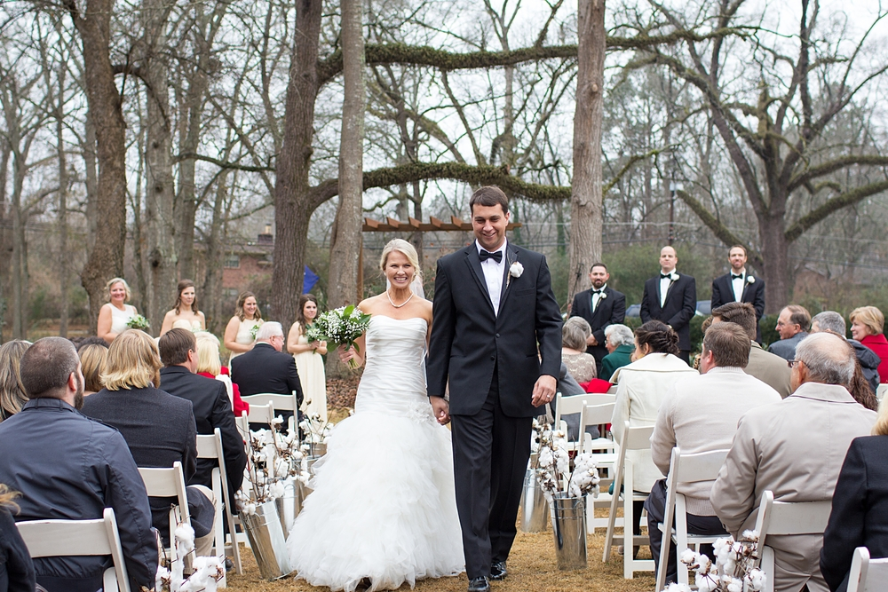 Sleepy Hollow Clemson SC Wedding