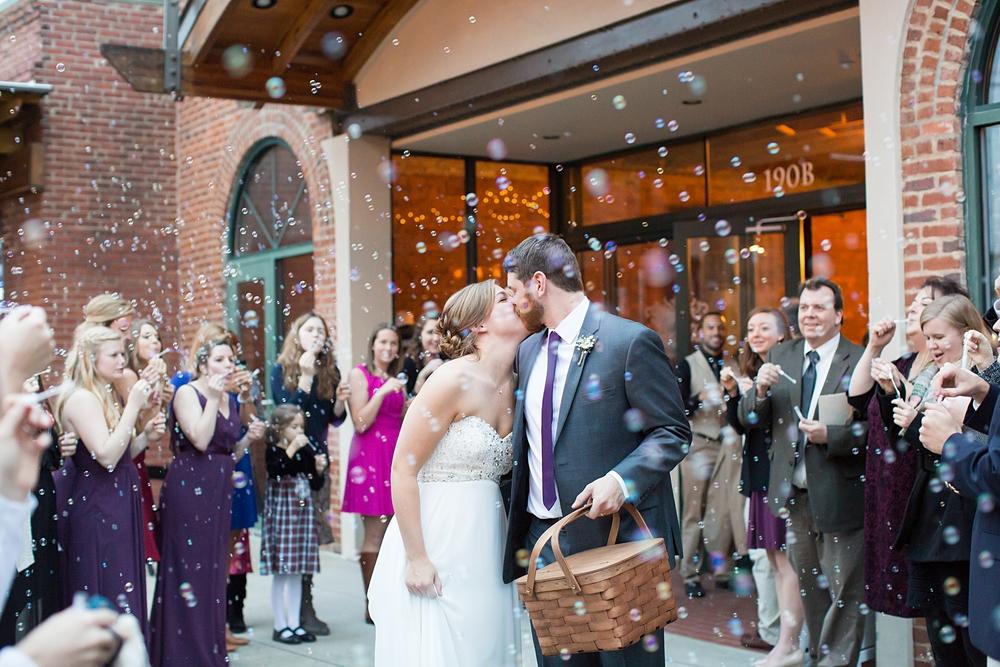 Wedding Bubbles Exit