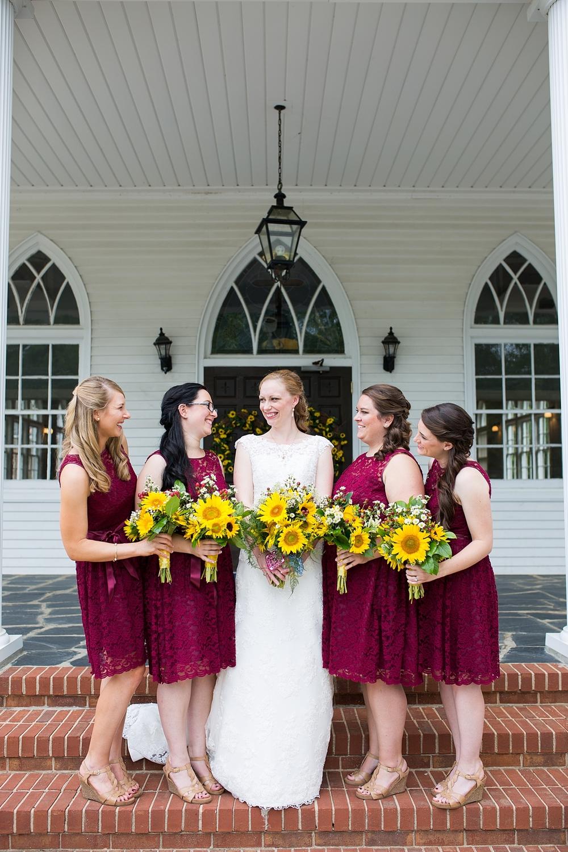 Starlight meadow marie ben 39 s wedding a burlington for Wedding dresses burlington nc