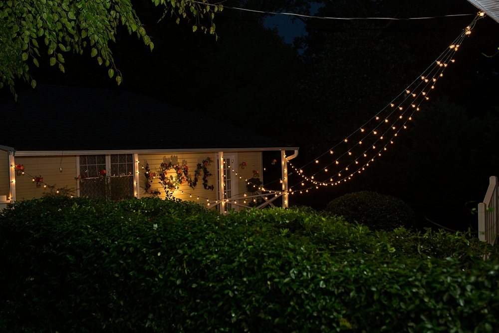 Greenville SC Backyard Wedding