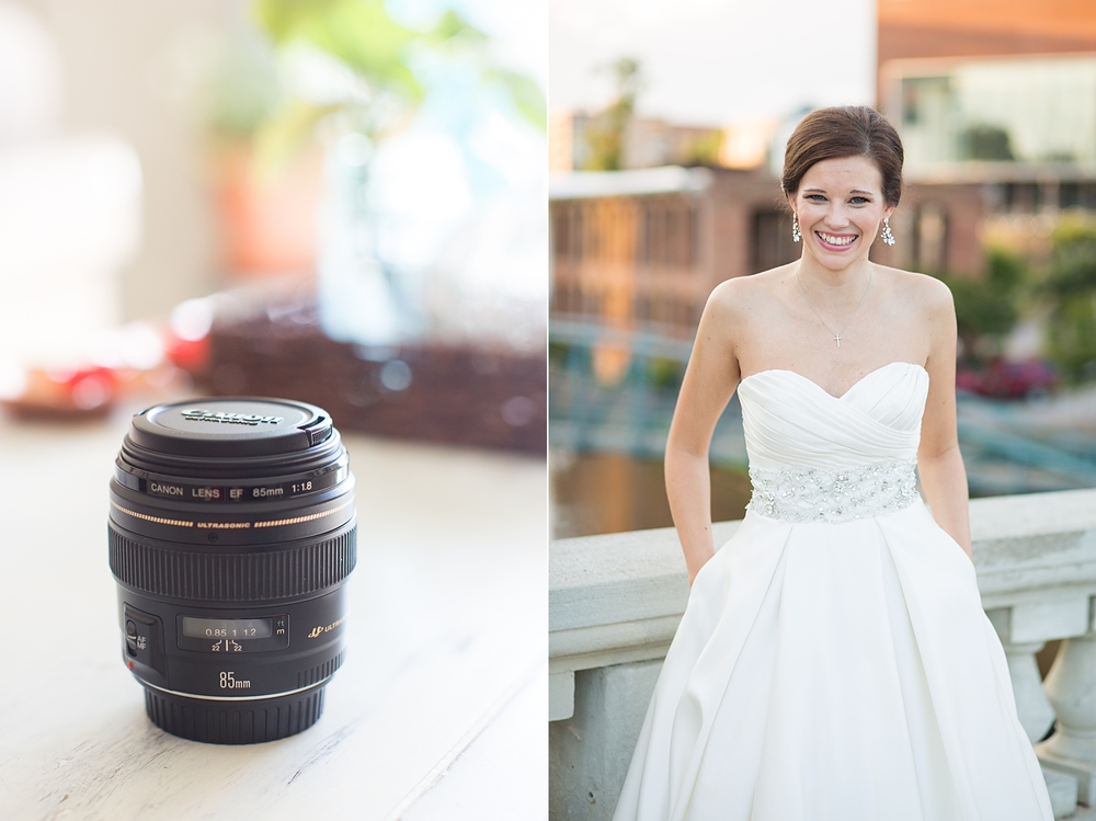 The image to the right was taken with my 85mm. See what I mean about the creaminess?!!