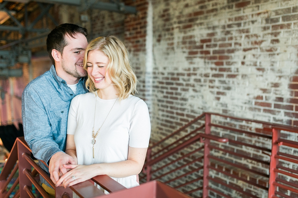 Haw River Ballroom Engagement Pictures