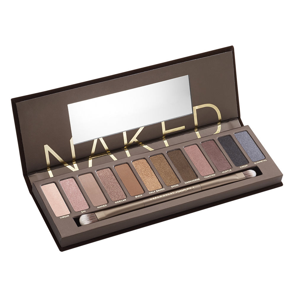 Urban Decay Naked Palette ($54)   You really can't beat this palette! Yes, it's expensive but mine has lasted me for 1-2+ years! The shadows are highly pigmented and you don't have to use much to get a lot of color.I recently purchased the Naked 3 Palette because my first one ran out and I like it a lot, but I have to say that I think the original is the best! If you have a cooler skin tone, the second one may be best for you.