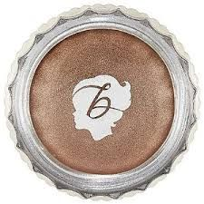 """Benefit Creaseless Cream Shadow   ($20) I LOOOOVE this stuff! This is usually what I swipe on when I'm in a rush (which seems to be most weekday mornings!) and it stays put all day. The color I use is """"No Pressure!"""""""