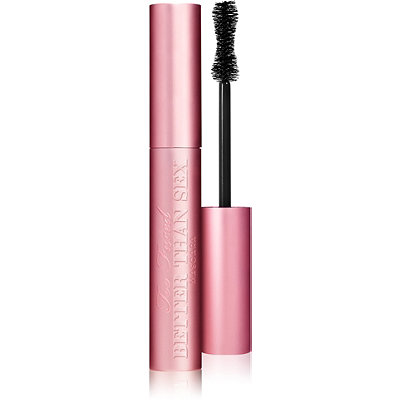 Too Faced Better Than Sex Mascara   ($23) I got this with a gift as a sample and I absolutely loved it! It doesn't do as good of a job as Benefit's mascara and separating each lash but it does add a lot of volume!