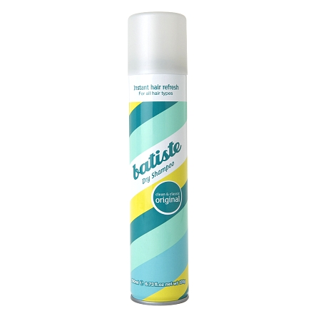 Batiste Dry Shampoo   ($7.99) This is a wonderful dry shampoo at a great price! I use this stuff every other day on the days I don't wash my hair. It absorbs oil but doesn't leave sticky residue in your hair.
