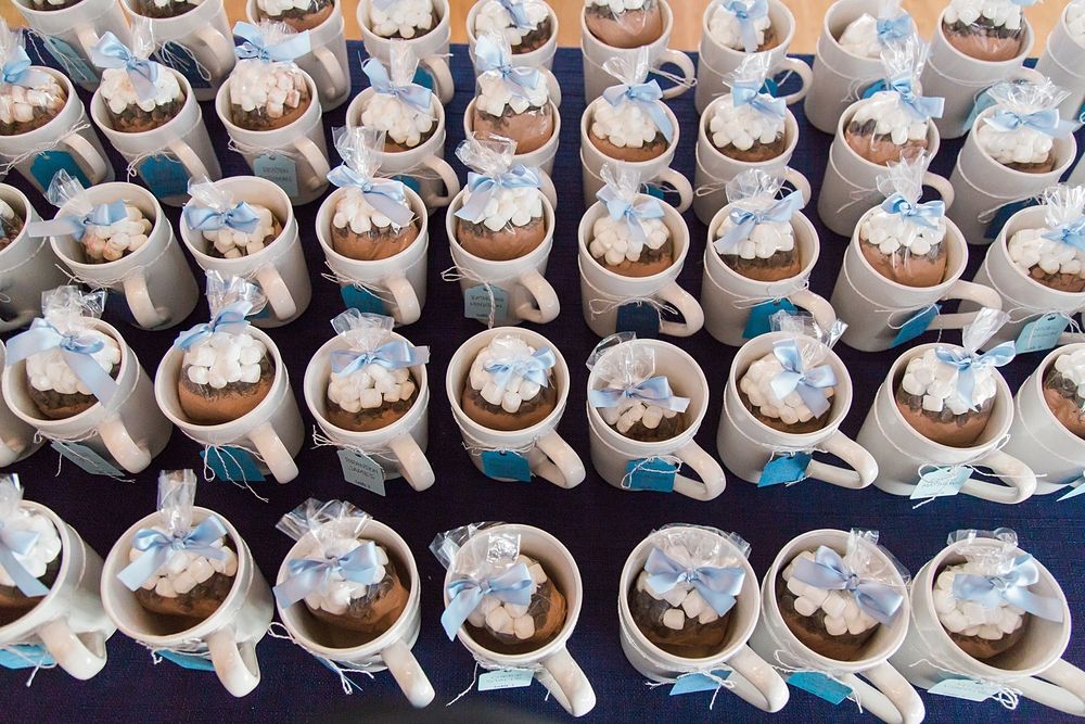 Wedding Favor Ideas- Hot Chocolate in Mugs