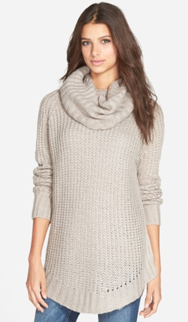 Dreamers By Debut Cowl Neck Sweater   ($28)