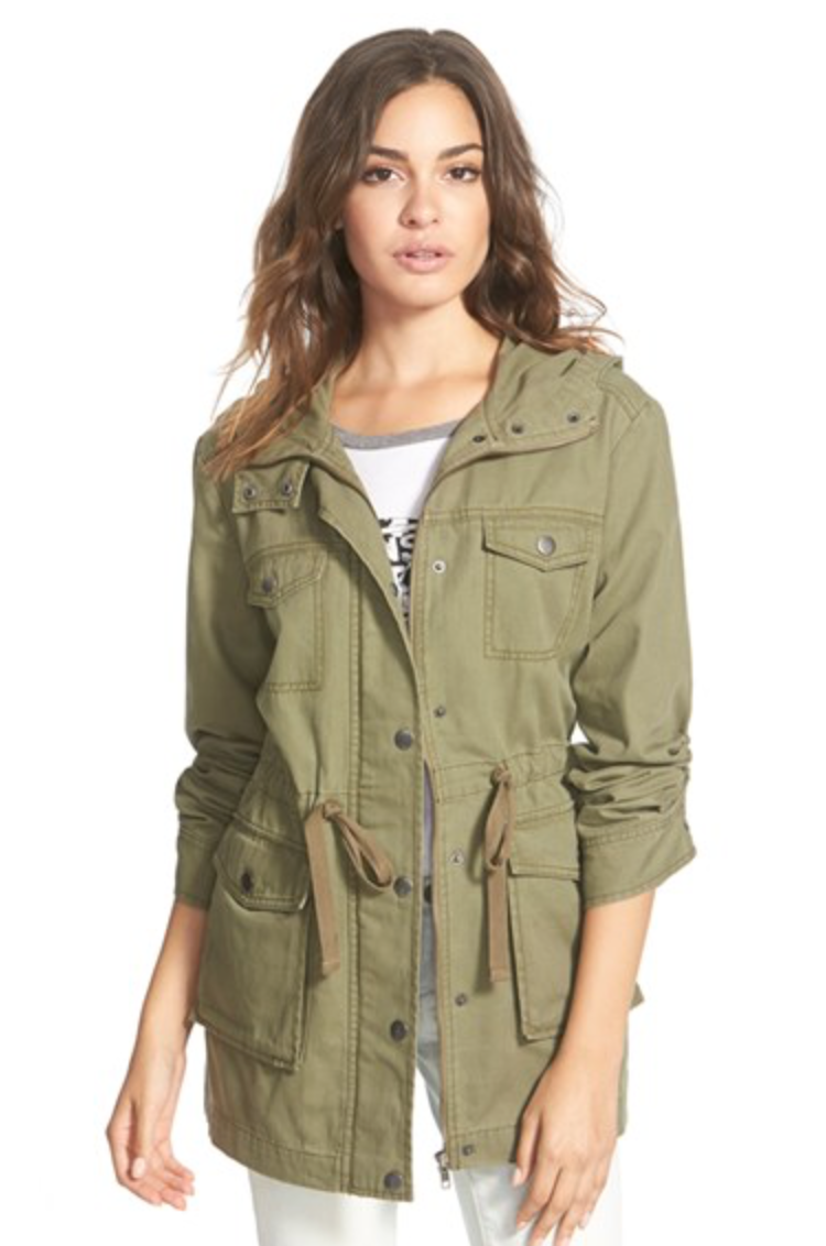 B.P. Hooded Field Jacket   ($64)
