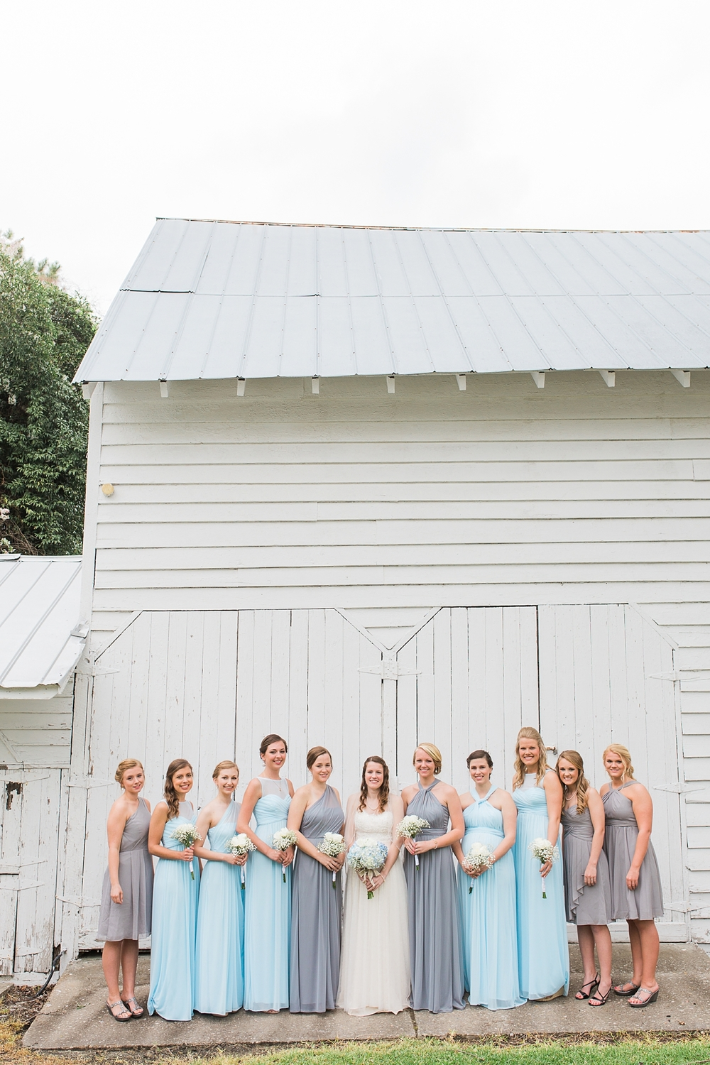 Rustic White Barn Wedding