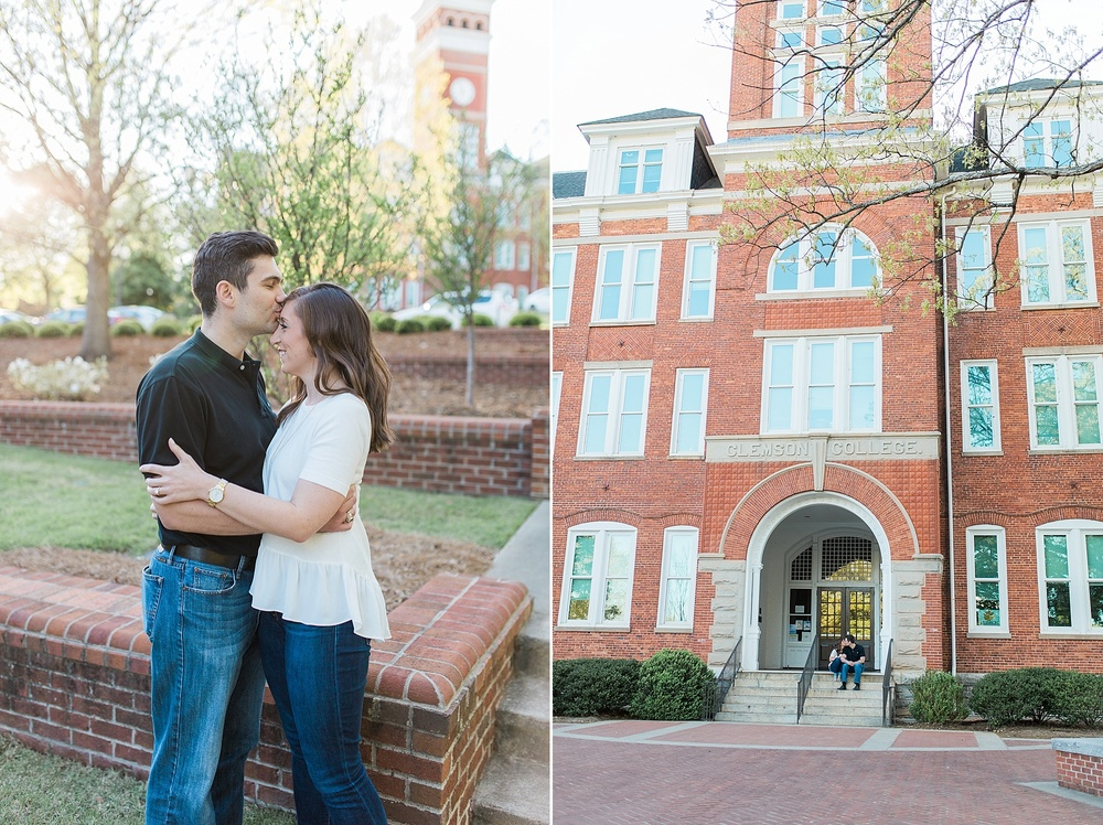 Clemson Engagement Session