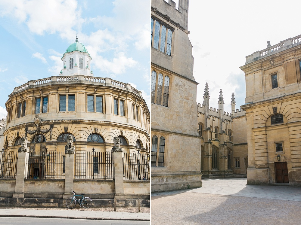Bodleian Library-  The Bodleian Library is the main research library of the University of Oxford. It is one of the oldest libraries in Europe. With over 12 million items, it is the second largest library in Britain after the British Library.