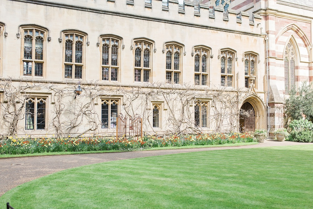 Balliol college, Oxford. Adam Smith, the father of modern economics, attended this college, much to Alex's delight. John Wycliffe was another famous alumnus.