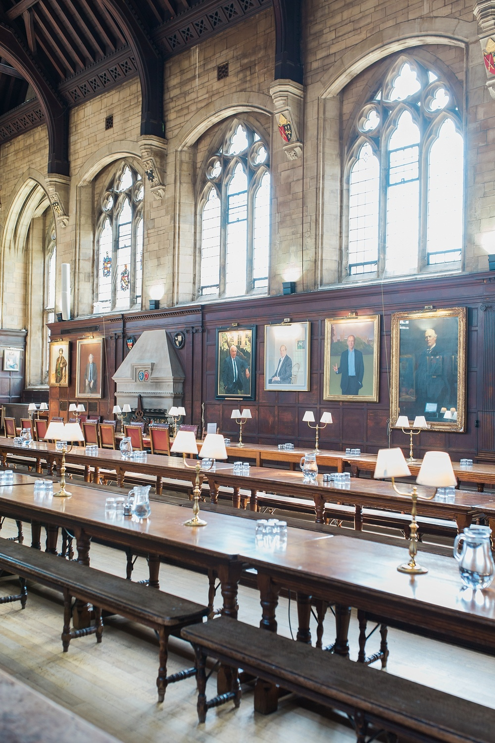 This particular dining hall in Balliol was actually the room that inspired the Harry Potter dining hall scenes.