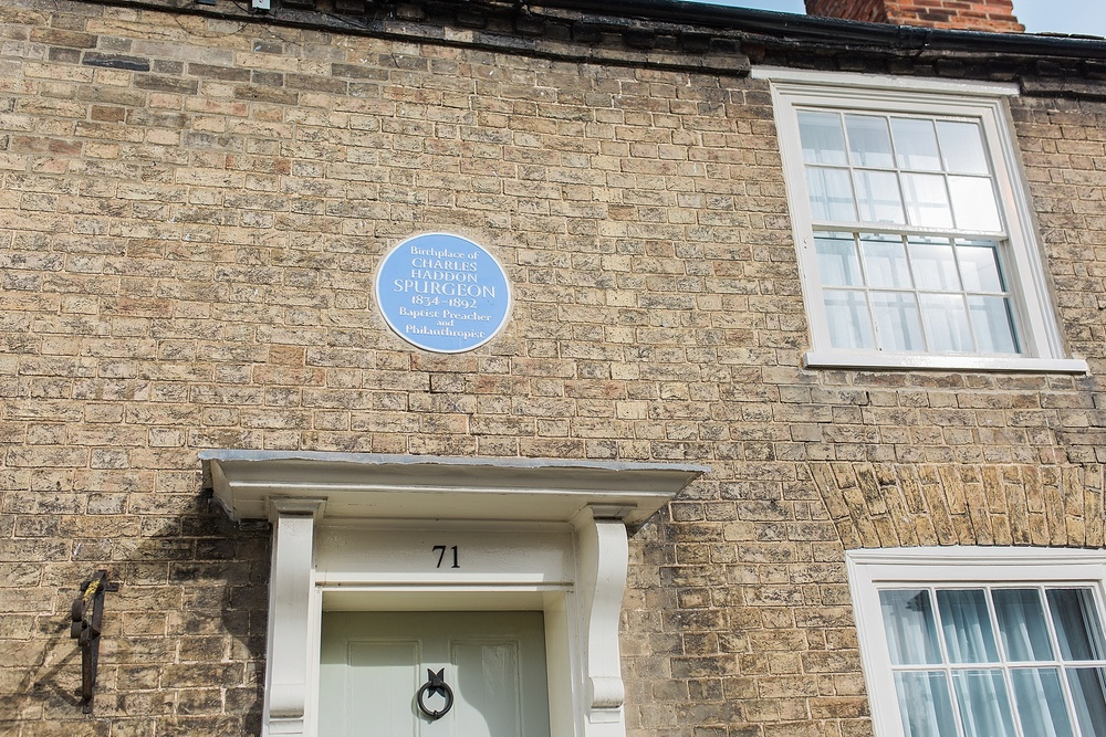 Birthplace of the Prince of Preachers, Charles Haddon Spurgeon!